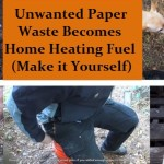 Turn Waste Paper into Heating Fuel
