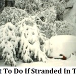 What Not To Do If Stranded In The Cold