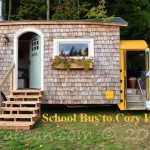 From School Bus to Cozy Home