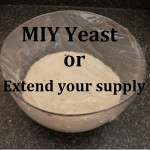 MIY Yeast or Extend Your Supply
