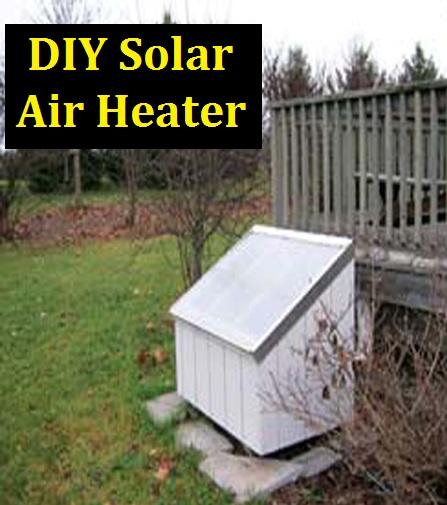 Diy Solar Air Heater The Prepared Page