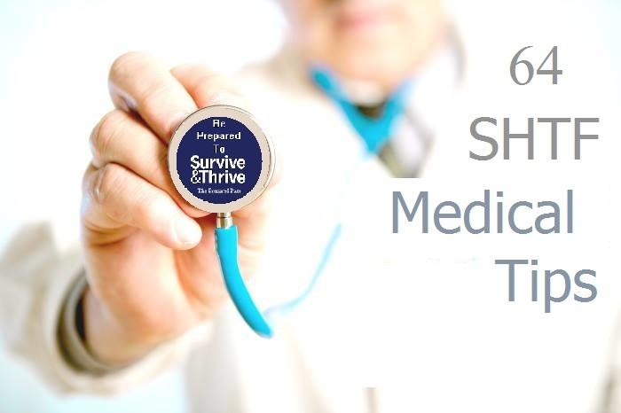 64 SHTF Medical Tips