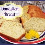 MIY Dandelion Bread