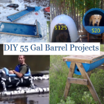 DIY 55 Gallon Barrel Projects