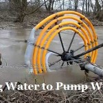 Using a Water Wheel to Actually Pump Water!