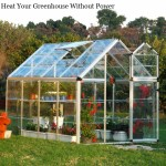 Heat Your Greenhouse Without Power