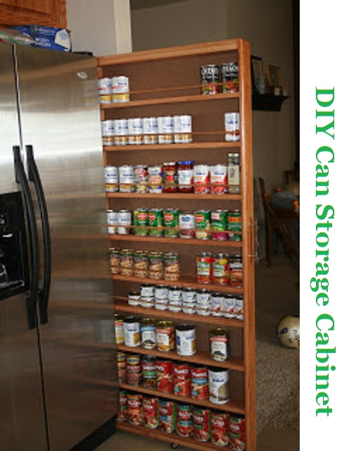 Diy Can Storage Cabinet The Prepared Page