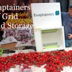 Evaptainers Off Grid Cold Storage
