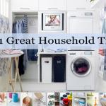 101 Household Tips
