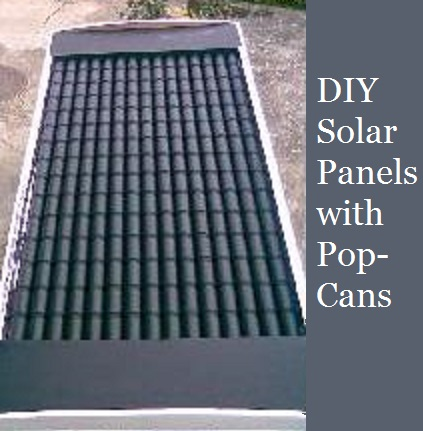 diy solar panels with pop cans the prepared page