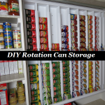 DIY Rotation Can Storage