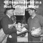 40 Items for Barter