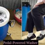 Pedal-Powered Washer