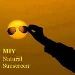 MIY Natural Sunscreen