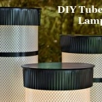 DIY Tube Light Lamps