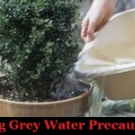 Using Grey Water Precautions