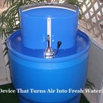 Device That Turns Air Into Fresh Water!