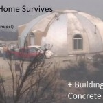 Concrete Home Survives Wildfires and Building Info