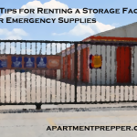 Storage for Emergency Supplies