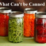 What Can't be Canned?