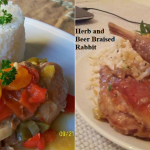 Rabbit Recipes: Braised and Stewed
