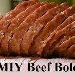 MIY Beef Bologna