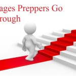 Stages Preppers go Through