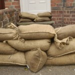 Deter Water or Bullets with Sand Bags