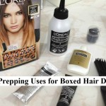 Prepping Uses for Boxed Hair Dye