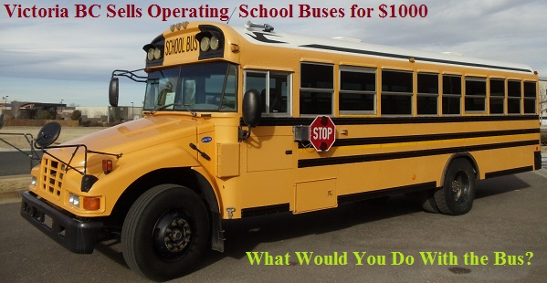 $1000 Bus-What Would You Do With It?