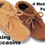 4 Methods for Making Moccasins