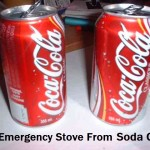 DIY Emergency Stove From Soda Cans