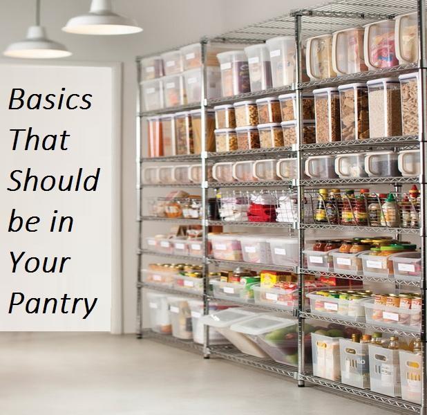 Survival pantry basics checklist