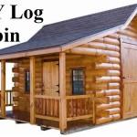 DIY Log Cabin