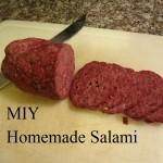 MIY Homemade Salami