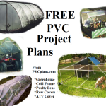 FREE PVC Project Plans