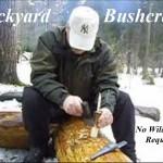 Backyard Bushcraft W/O the Wilderness!