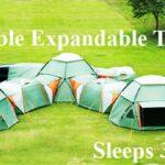 Incredible Expandable Tent- Sleeps 3 to 16!