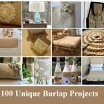 100 Unique Burlap Projects