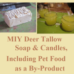 MIY Deer Tallow Soap & Candles (Pet Food By-Product)