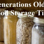 Generations Old Storage Tips
