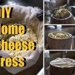 DIY Home Cheese Press