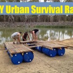 DIY Urban Survival Raft