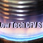 DIY a Low Tech CFV Stove