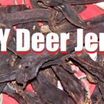 MIY Deer Jerky