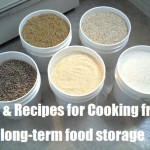 Tips & Recipes for Cooking from Long Term Food Storage