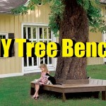DIY Tree Bench