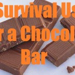 10 Survival Uses for a Chocolate Bar