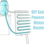 DIY Solar Powered Water Heater