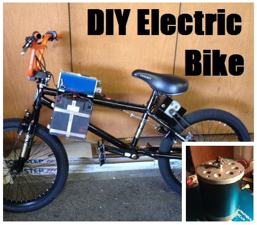 DIY Electric Bike - The Prepared Page